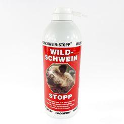 Wildschwein-Stopp rot