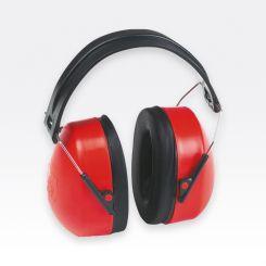 Kapselgehörschutz rot